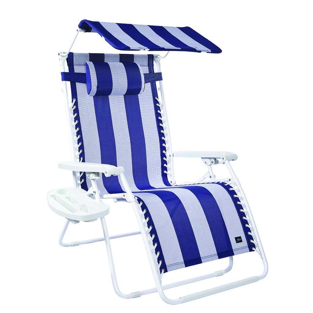 XL Gravity Free Recliner Chair W/ Canopy U0026 Tray: Bliss Hammocks