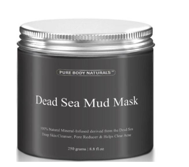 Dead Sea Mud Mask Facial Treatment Skin Prob Anti Acne Aging Safe For Face Body #PureBodyNaturals