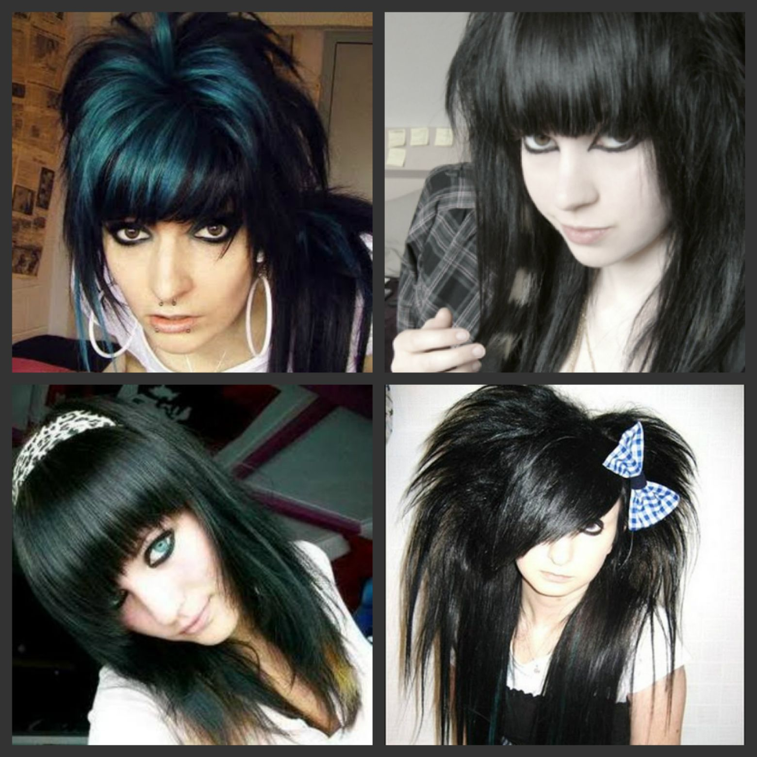 Pin on Emo Girls and Hair