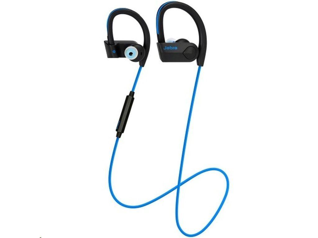 Jabra Sport Pace Wireless Bluetooth Earphones Blue In 2020 Bluetooth Earphones Wireless Bluetooth Earphone