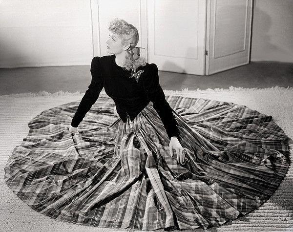 Lucille Balle, 1940 publicity shot.