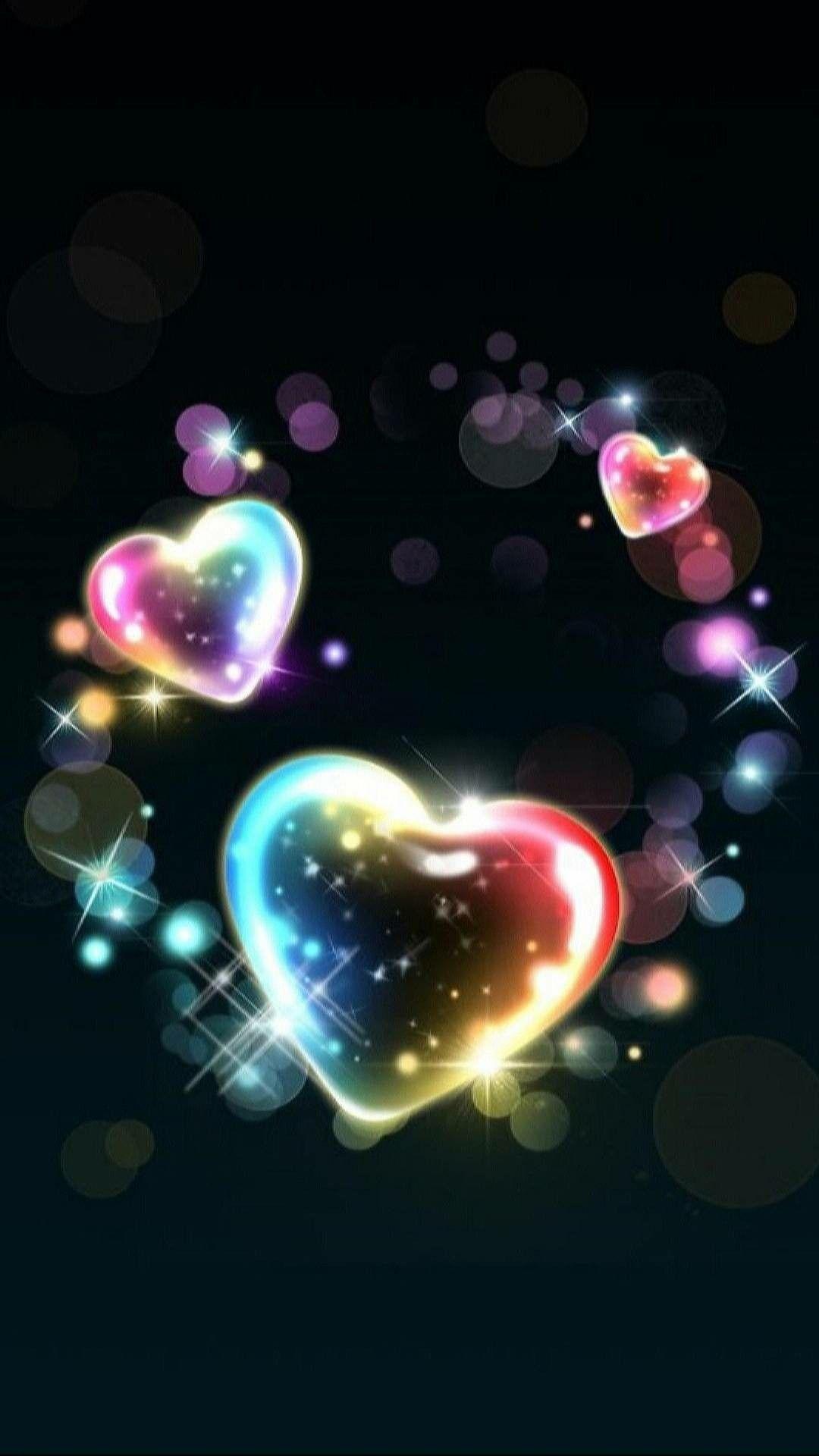 Hearts Made Of Bubbles Heart Wallpaper Hd Heart Iphone Wallpaper Heart Wallpaper