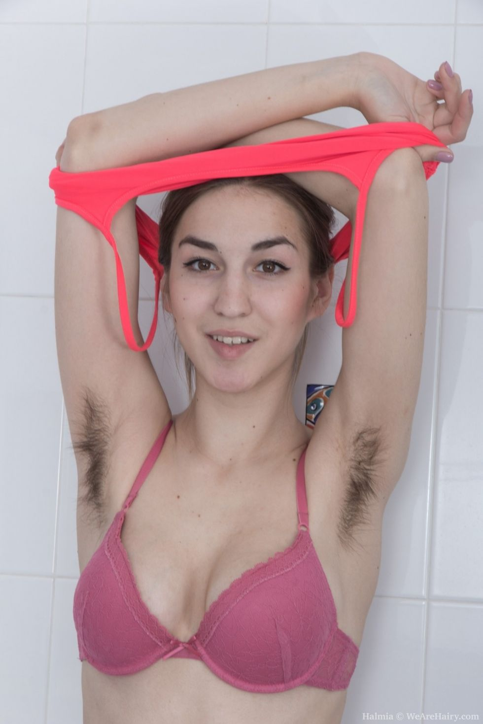 What here busty natural hairy women seems magnificent