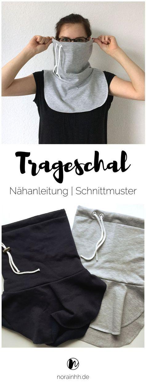 Photo of Trageschal   Anleitung & Schnittmuster gratis   norainhh.de