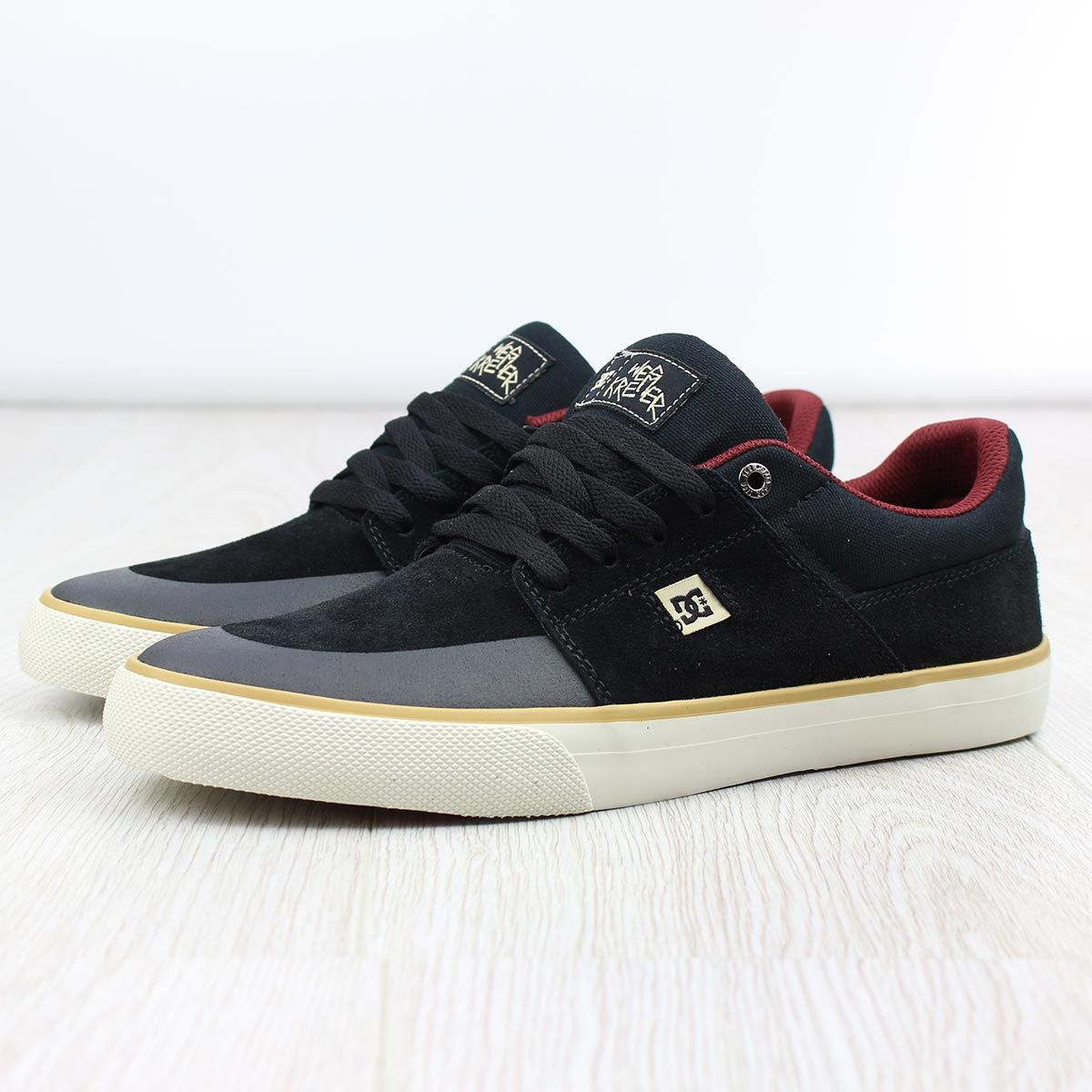 the best attitude df8cc 1a49b DC Shoes Wes Kremer S SE - Black Cream