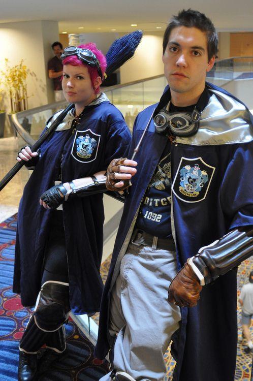 Yup. Ravenclaw quidditch team. Via NudityandNerdery.tumblr