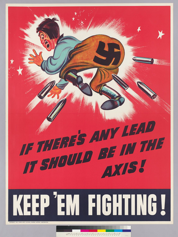 General Motors Corporation Fisher Body Division C 1942 Keep Em