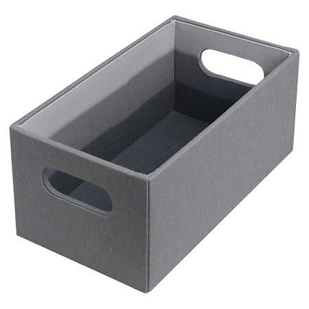 CD/DVD Storage Box   Grey   Room Essentials™ : Target 4.880 Inches,H W  6.000 Inches, D 11.000 Inches $5.99 Each