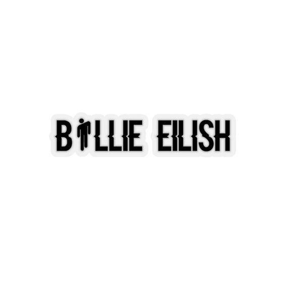 Billie Eilish Decal Stickers For Women Love Billie Eilish Billie Eilish Billie Black And White Stickers