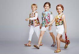 Resultado de imagen para dolce & gabbana niños 2016