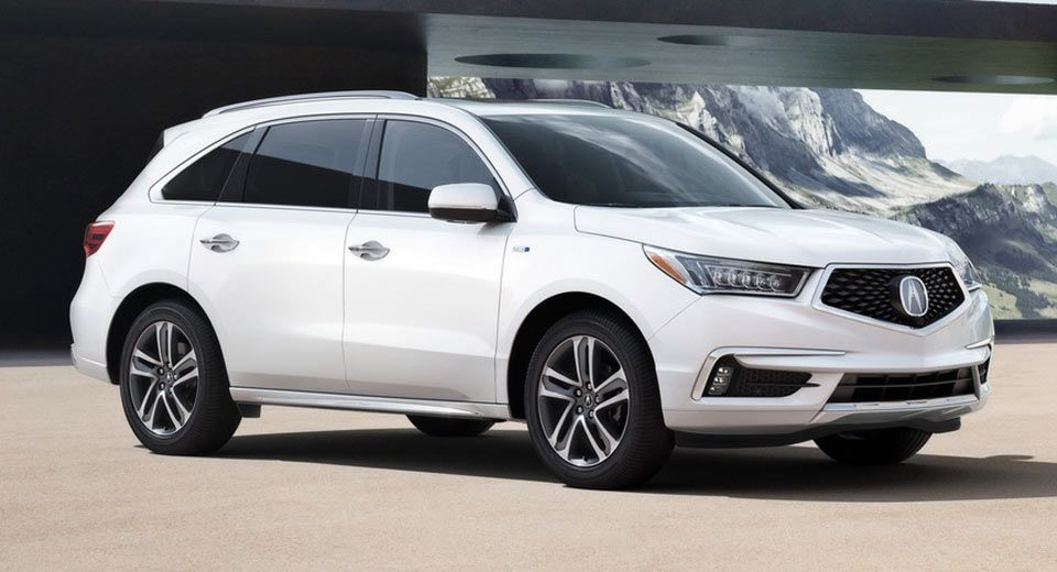 New 2017 Acura Mdx Sport Hybrid Has 321hp And A 51 960 Starting Price Carscoops Acura Mdx Acura Acura Hybrid