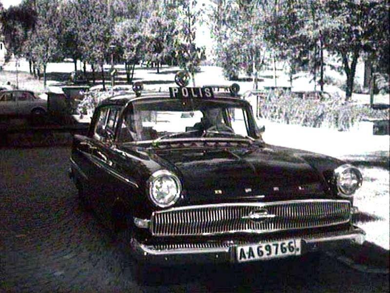 Opel Kapitän POLIS (P2) '1959–64