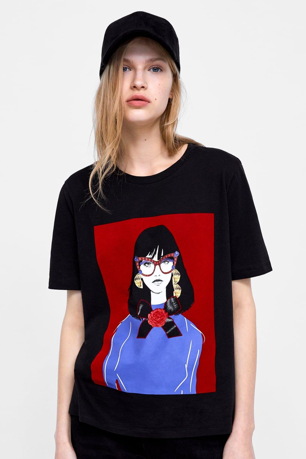 76c0514327d23 Image 2 of PRINTED T-SHIRT from Zara