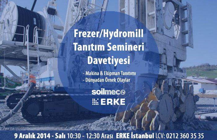 Frezer  / Hydromill Seminer Davetiyesi