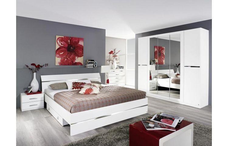 Bettanlage Dorsten Alpinweiss 180 Cm Online Bei Poco Kaufen Poco Schlafzimmer Schoner Wohnen Schlafzimmer Drehturenschrank