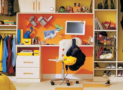California Closet Teenager Homework Space   Kids Room & Closet Ideas ...