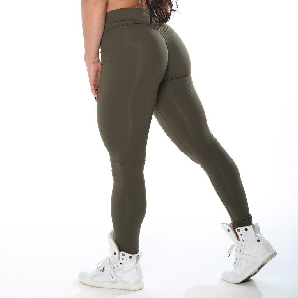 88da88298e66c7 High Waist Army Leggings Army Leggings, Green Leggings, Yoga Fitness,  Fitness Tips,