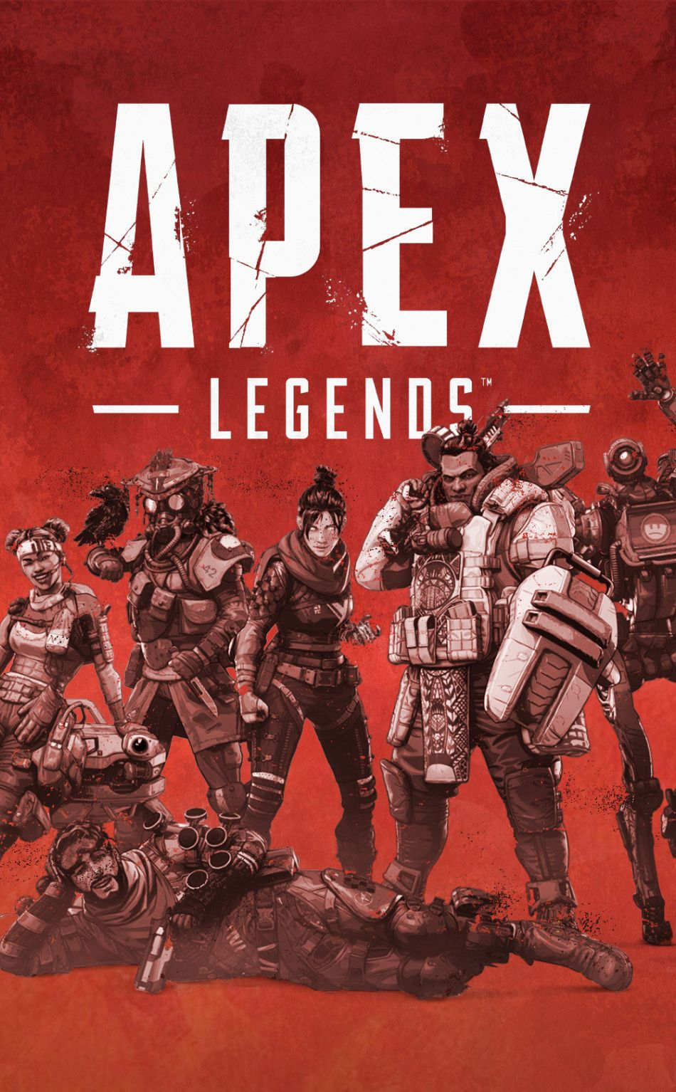 Poster Video Game 2019 Apex Legends 950x1534 Wallpaper Ideias