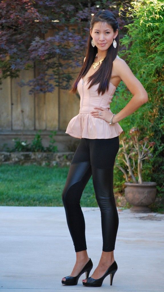 Parker Coset and Spliced Leggings outfit | Virtual Closet/My Personal Style | Pinterest ...