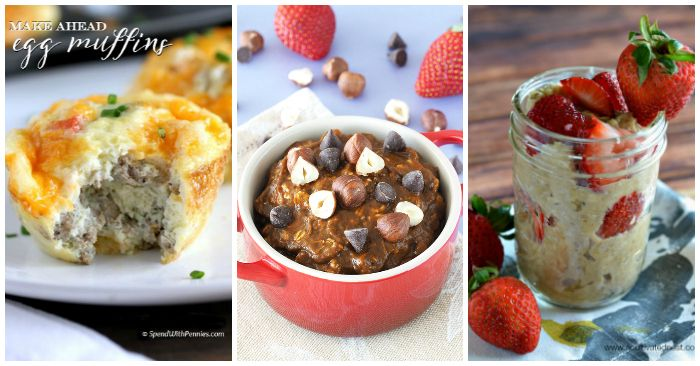 20+Easy+Make+Ahead+Breakfast+Recipes+via+@leviandrachel