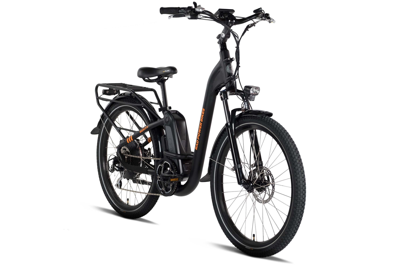 Radcity Step Thru Electric Commuter Bike Version 3 Custom Choppers Commuter Bike Custom Bikes