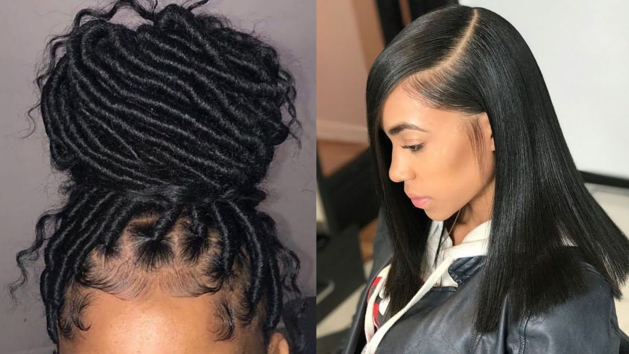 Cute And Trendy Hairstyles Compilation Trending 2019 Hair Styles Trendy Hairstyles Instagram Hairstyles