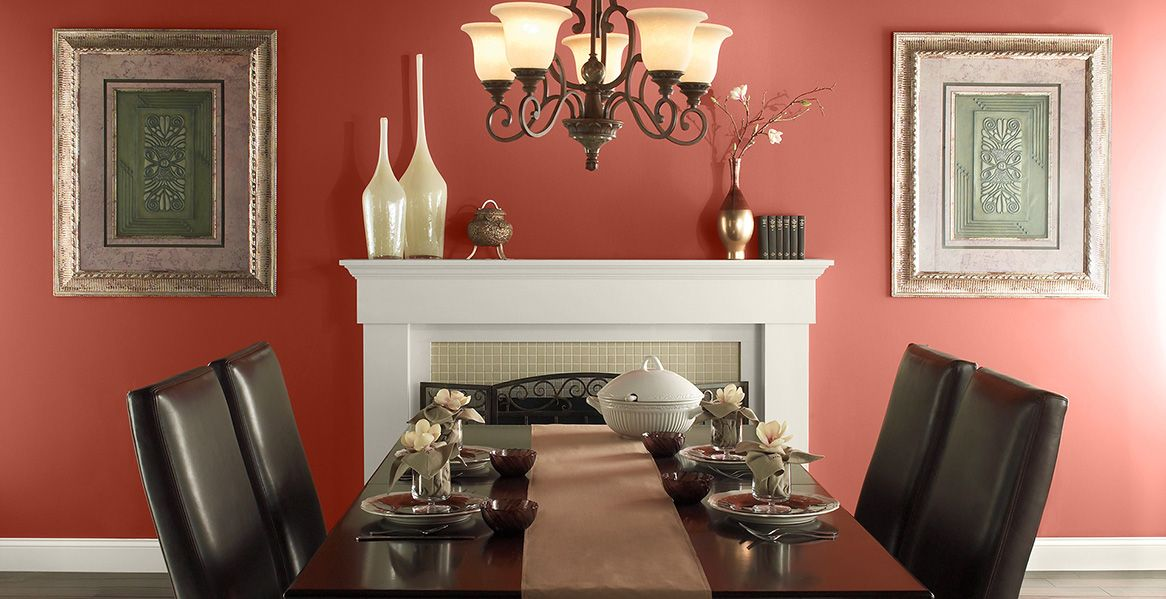 Orange Painted Room Inspiration Project Gallery Behr