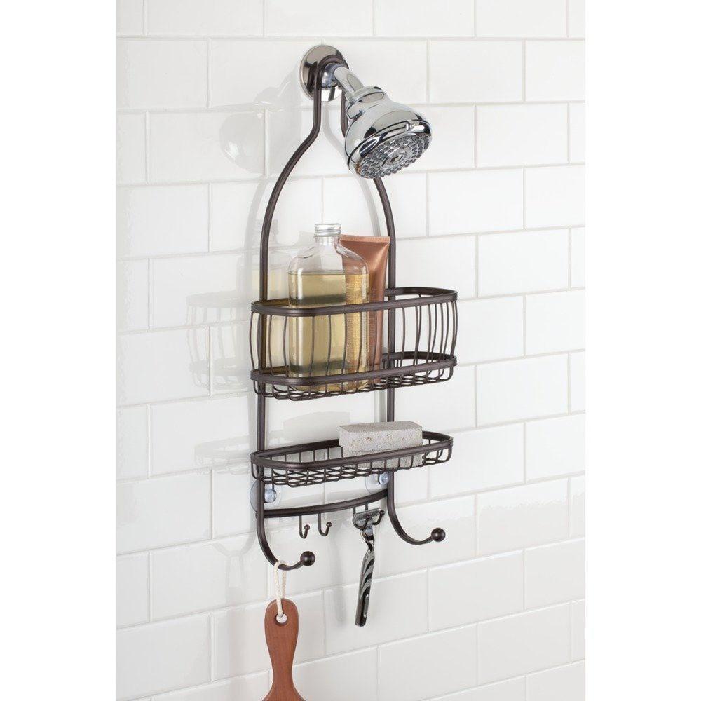 Bathroom Hanging Shower Caddy Shelf Storage Bath Organizer Holder Rack Soap
