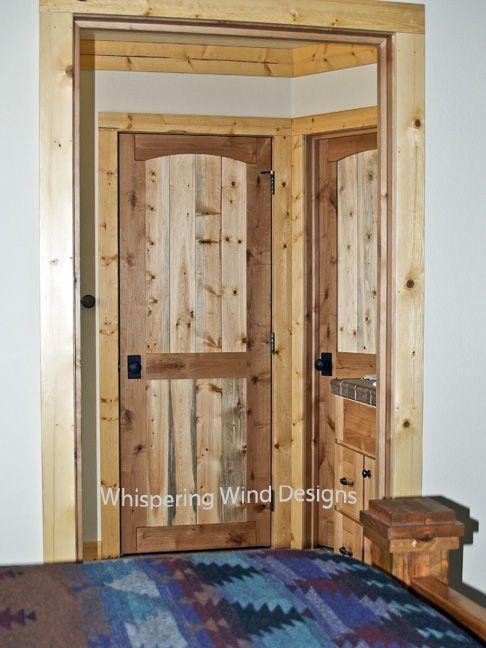 Beetle kill pine trim pine trim would be great around for Wood trim around doors