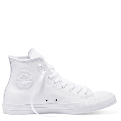 d03e470e54ad Chuck Taylor All Star Leather High Top White