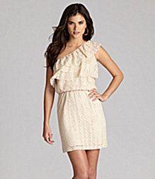 Gianni Bini Polina One-Shoulder Dress, 128- hmmm maybe for AMS wedding..