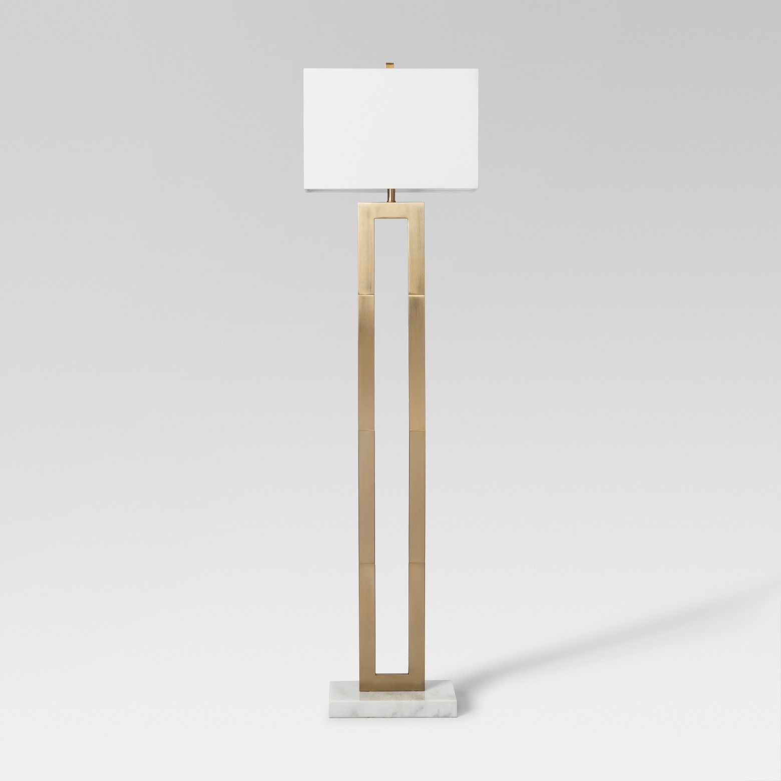 Weston Window Pane Floor Lamp Br
