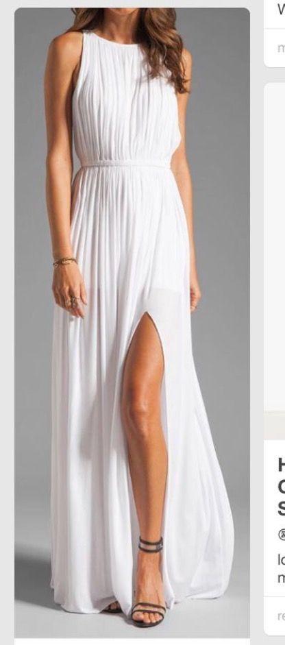 Revolve Clothing White Sen Flaviana Dress Presh Reception Or For The Rehearsal Dinner