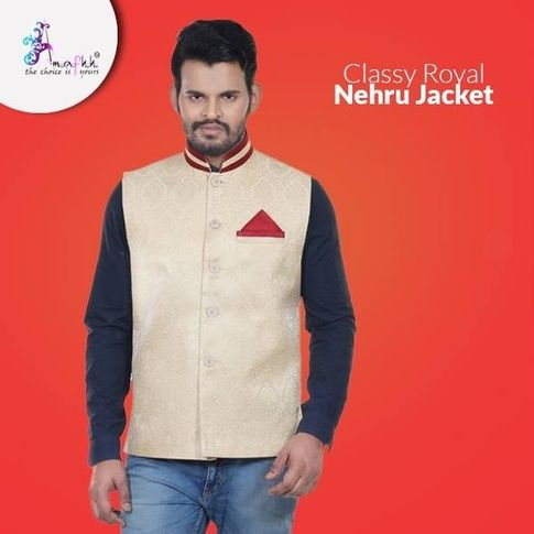 Select From a Wide Range of Nehru Jackets Online - Amafhh - Quora ... 01ad57d76
