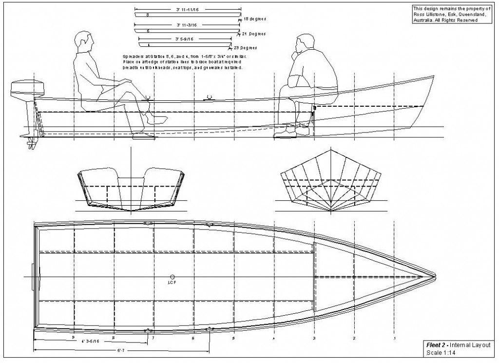 Ross Lillistone's 15' Low Horsepower Planing Boat FLEET