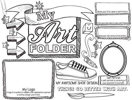 STUDENT ART FOLDER (SET OF 30) from teachersdiscovery.com