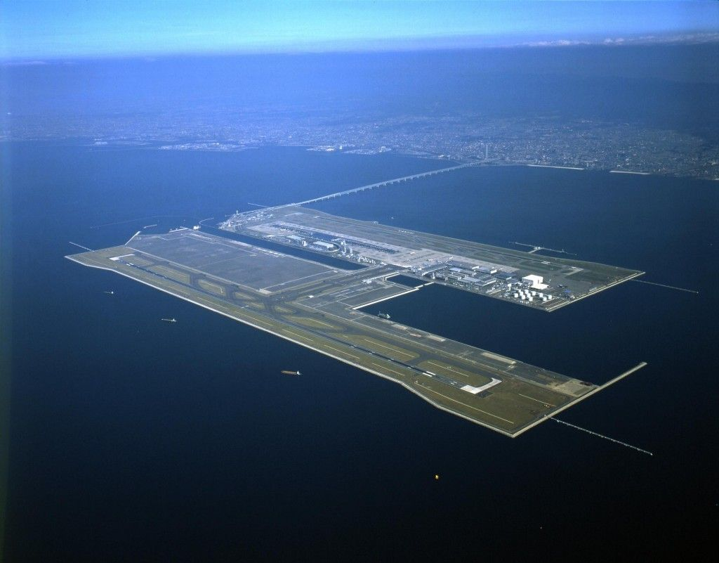 The World's Largest Floating Airport, Tokyo Bay's Megafloat ...