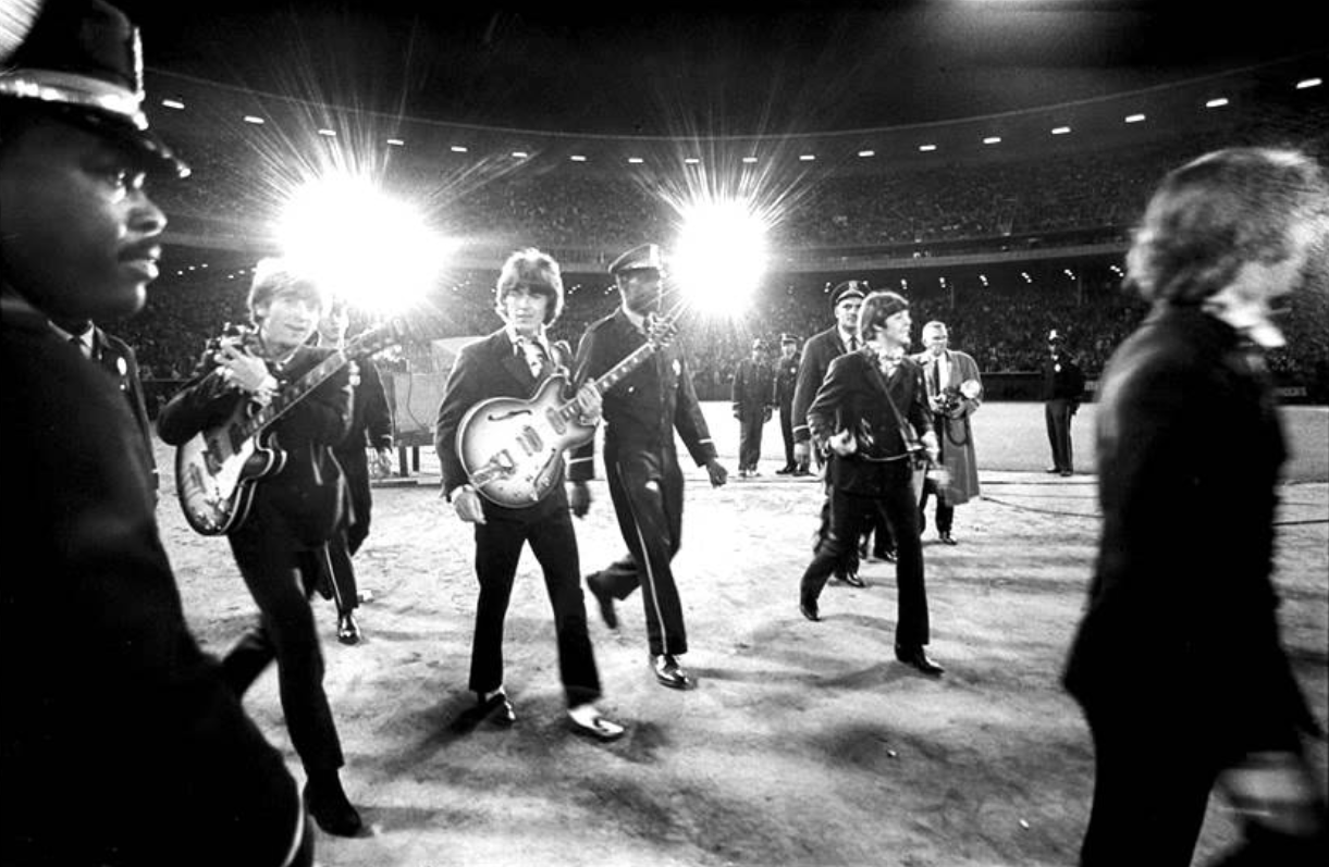 onthisday 29 August,1966: Concert at the Candlestick Park, San ...