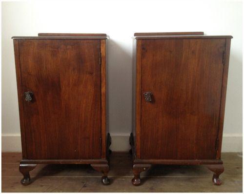 Best A Simple Yet Elegant Pair Of Pre War Oak Bedside Lockers Size 34D X 42W X 68H Cm Approx Poa 400 x 300