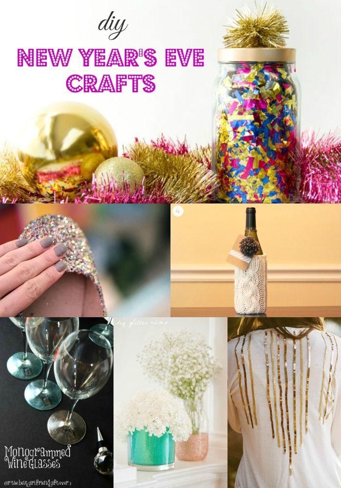 DIY New Year's Eve Craft Ideas http://momadvice.com/blog/2013/12/diy-new-years-eve-craft-ideas
