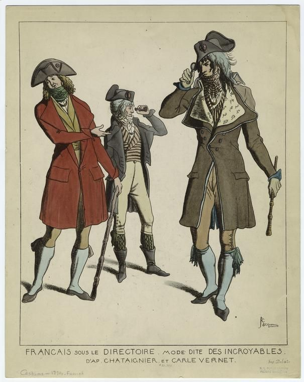 Pin En Directoire French Revolutionary Fashion