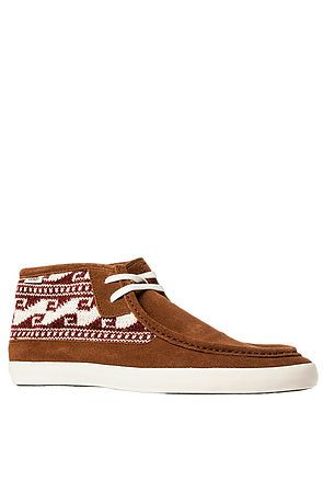 129a2d246e The Vans x Krochet Kids Rata Mid Sneaker in Rust by Vans Footwear ...