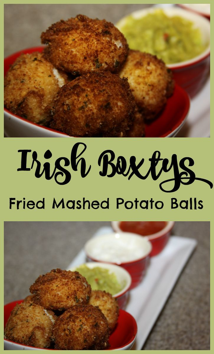 Irish Boxtys - Fried Mashed Potato Balls