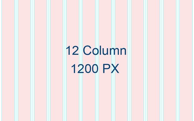 How To Create 12 Column Responsive Grid 1200 Pixels Width Websites Quickly