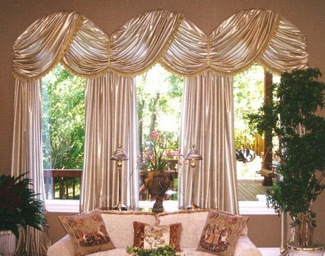pin curtains for on arched treatments windows arch hooks drapes