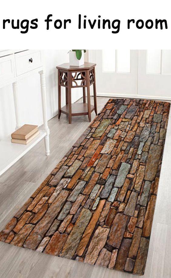 Vintage Brick Velvet Bath Area Rug Rugs On Carpet Pattern Bath