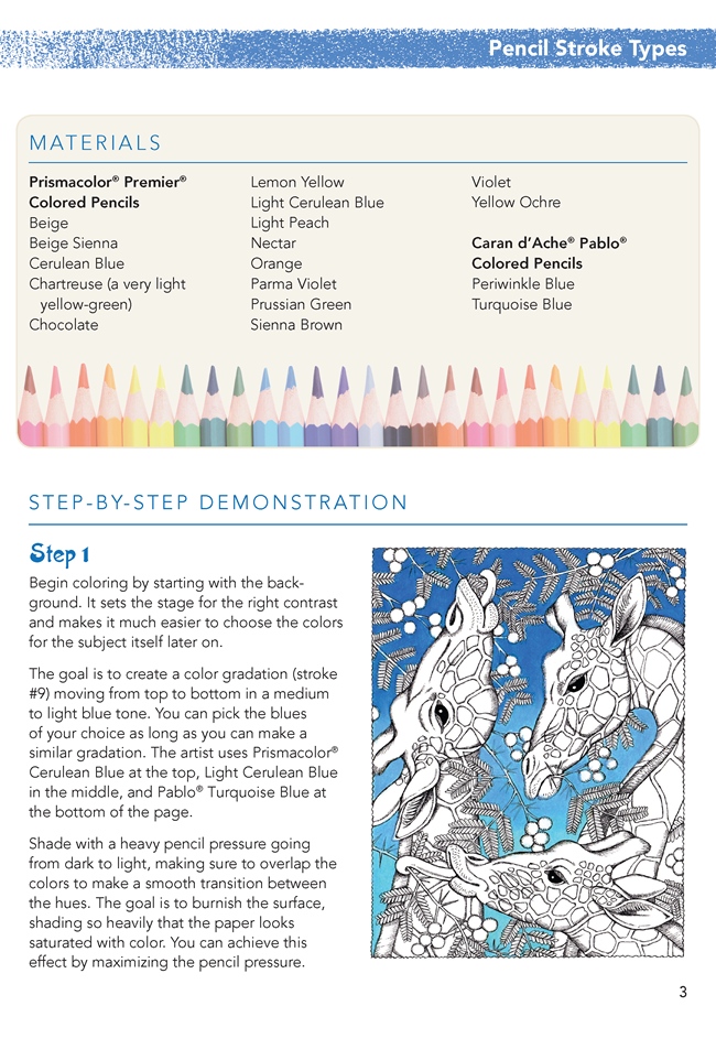 How to Color Like an Artist: Colored Pencil Techniques including ...