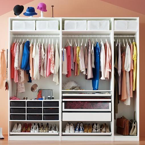 Ikea armarios a medida vestidor pinterest ikea - Complementos para armarios ...