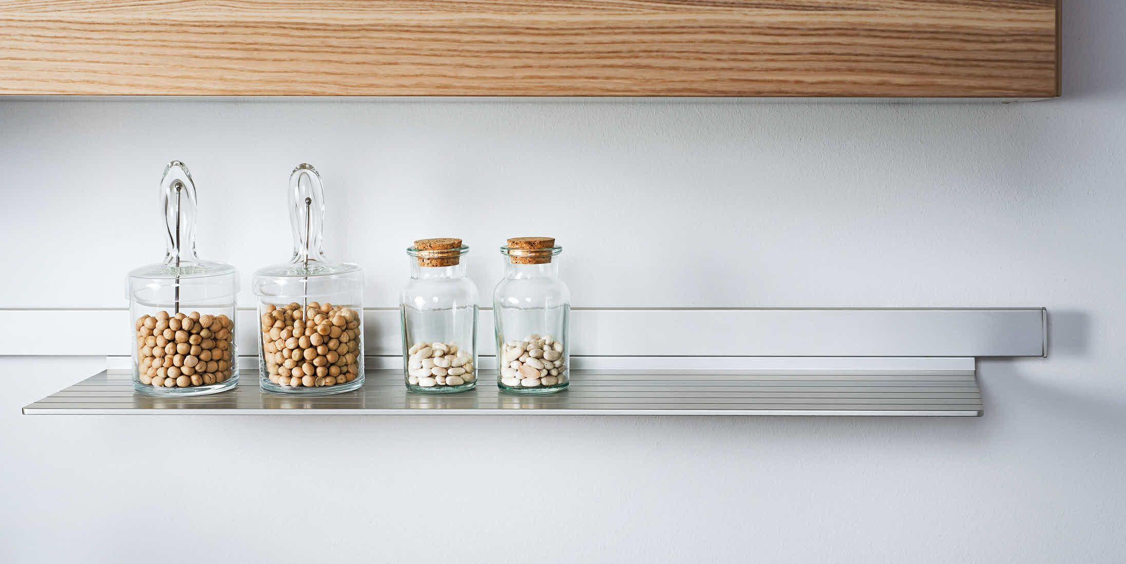 Poggenpohl Accessories   Wall System Storage Boxes On Shelf