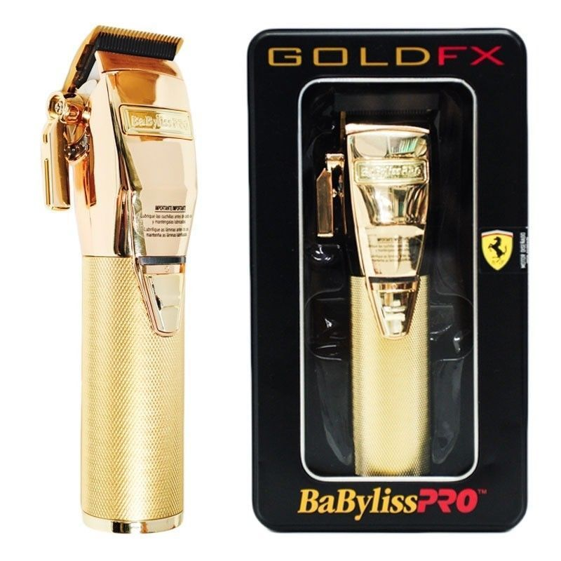 BaByliss Pro GOLD FX Cordless Clippers, Clipper blades